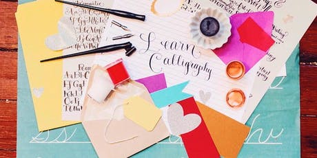 Envelope Art Workshop with Lettering By Liz tickets