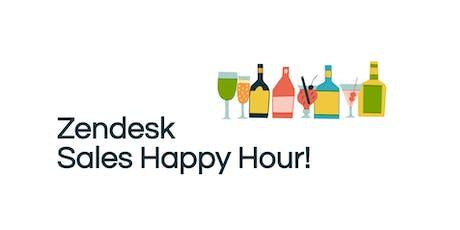 Zendesk Sales Happy Hour! tickets