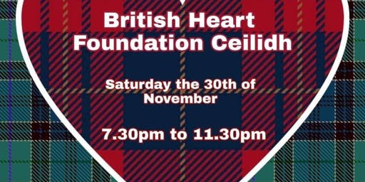 Ceilidh in aid of British Heart Foundation - Dunfermline Group