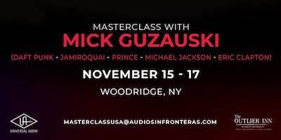 Mixing Workshop with Mick Guzauski