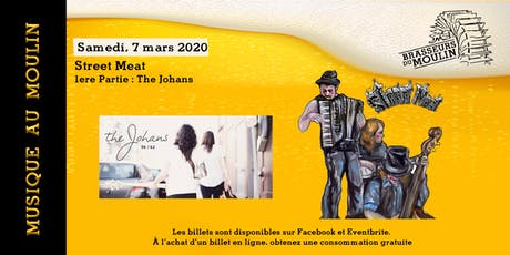 Musique au Moulin - Street Meat tickets