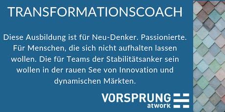 Ausbildung zum Transformationscoach Tickets