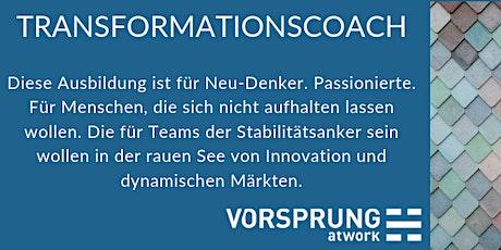 Ausbildung zum Transformationscoach | 5 Module Tickets