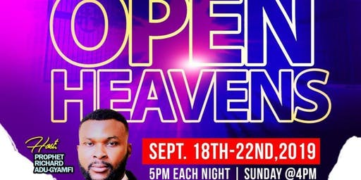 Open Heavens Prophetic Church Conference with Prophet Richard A Gyamfi