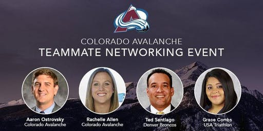 2019 Colorado Avalanche Teammate Networking Event