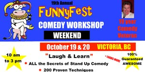 Stand Up Comedy WORKSHOP & Comedy Writing - Saturday,...