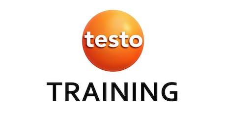 Testo New Product & Basics of Airflow Training - Lodi tickets