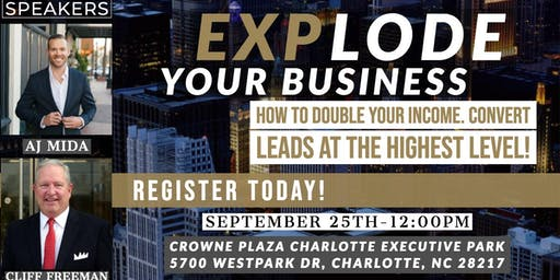 EXPLODE Your Real Estate Business - Free Coaching Event