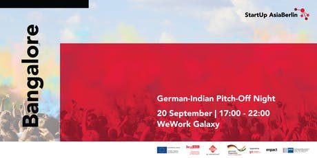 German-Indian Pitch Off Night tickets