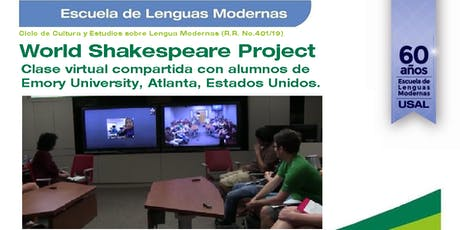 World Shakespeare Project -  Clase virtual compartida con Emory University, Atlanta, Estados Unidos. entradas