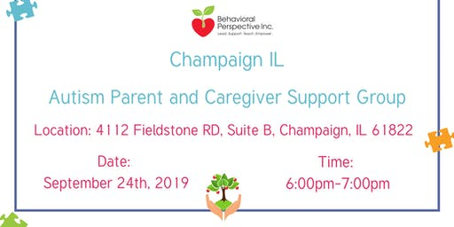 Champaign IL Autism Parent and Caregiver Support Group