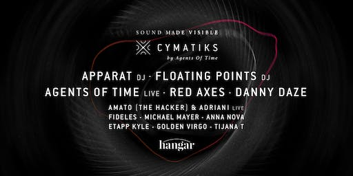 Hangar invites Cymatiks by Agents of Time