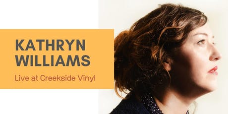 Kathryn Williams - Acoustic Session at Creekside Vinyl tickets