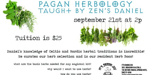 Pagan Herbology with Daniel
