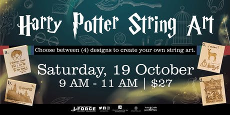 EAFB Harry Potter String Art tickets