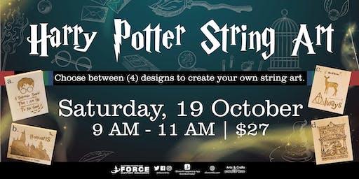EAFB Harry Potter String Art