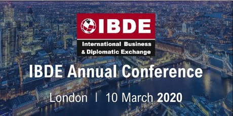 IBDE Annual Conference 2020 tickets