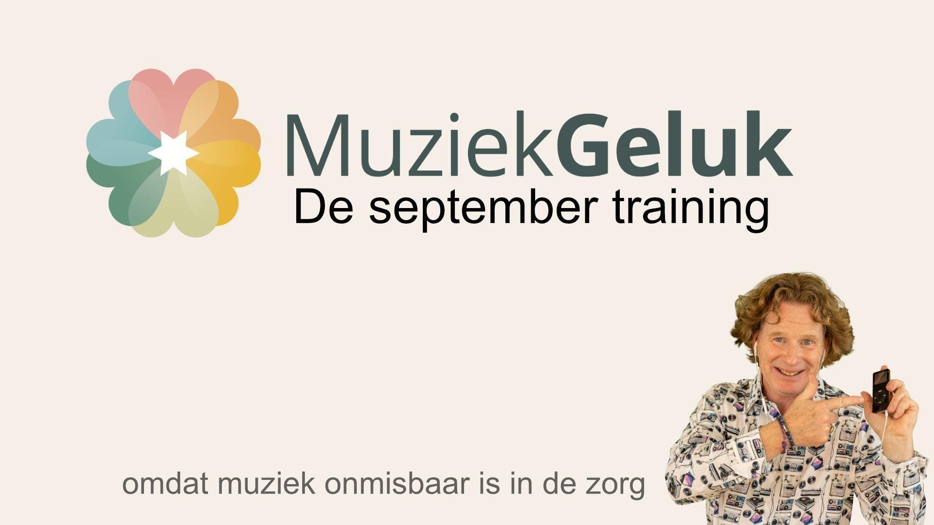 September MuziekGeluk Training - V&V geaccrediteerd met 5 punten