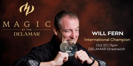 MAGIC at the DELAMAR: Will Fern- International Champion