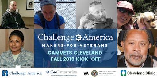 CHALLENGE AMERICA MAKERS FOR VETERANS FALL 2019 KICK-OFF