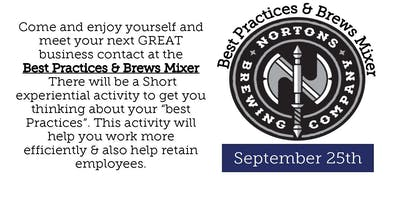 Best Practices & Brews September 25th Mixer