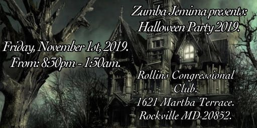Zumba Halloween Party 2019.