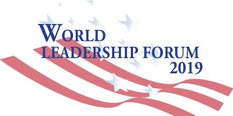 World Leadership Forum Dinner 2019 tickets