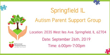Springfield Autism Parent Support Group tickets