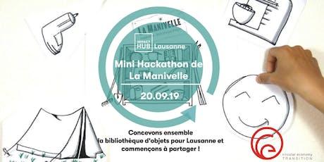Mini Hackathon - concevons ensemble La Manivelle Lausanne ! tickets