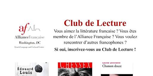 Alliance Française - Club de Lecture 2019/2020