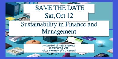 oiConference - Sustainability in Finance and Management