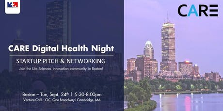CARE Digital Health Night in Boston tickets