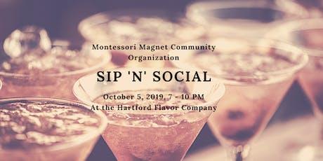 Montessori Magnet Sip 'n' Social  tickets