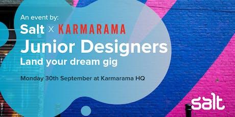 Salt x Karmarama: Land your dream design gig tickets