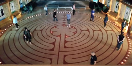 Meditate on the Labyrinth - sit, walk and/or dance Oct 4, 2019