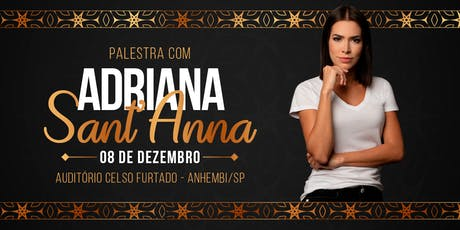 Palestra Adriana Sant'Anna e Rodrigão ingressos
