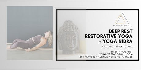 Deep Rest: Restorative Yoga + Yoga Nidra tickets
