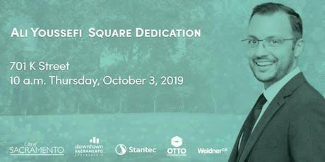 Ali Youssefi Square Dedication tickets