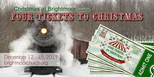 Christmas at Brightmoor - Saturday 7 PM, 12/14