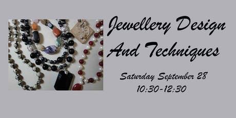 Jewellery Design and Techniques tickets