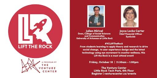 #VCLiftTheRock Presents: Julien Mirivel and Joyce Locke Carter