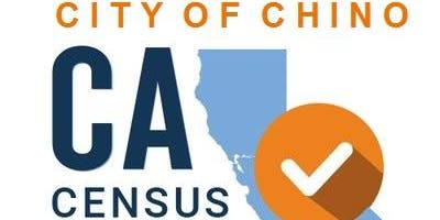 Count on Chino!  The Chino Census Complete Count Committee.