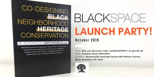 BlackSpace Happy Hour/Launch Party - October 2019