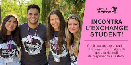 Incontra l'Exchange Student - Milano 16/10/2019 biglietti