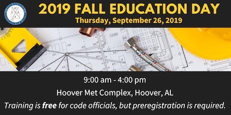 COAA 2019 Fall Education Day tickets