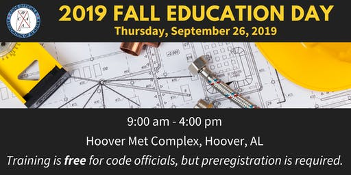 COAA 2019 Fall Education Day