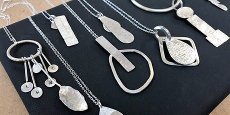 Silversmithing Silver Pendants workshop by ANUKA Jewellery. tickets