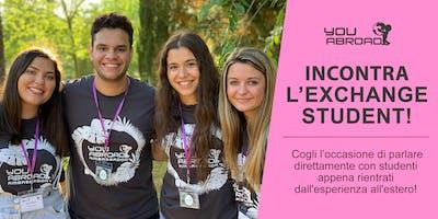 Incontra l'Exchange Student - Roma 16/10/2019