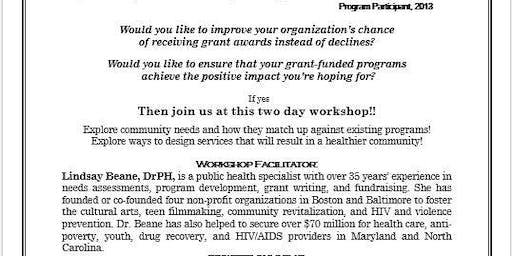 Program Development & Fundraising Workshop