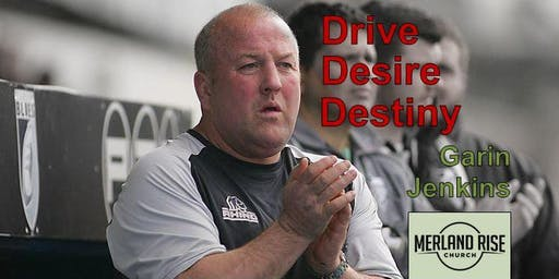 Drive, Desire, Destiny - Rugby with Garin Jenkins - Curry and Talk